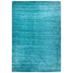 Belpre Handwoven Blue Rug by Longweave