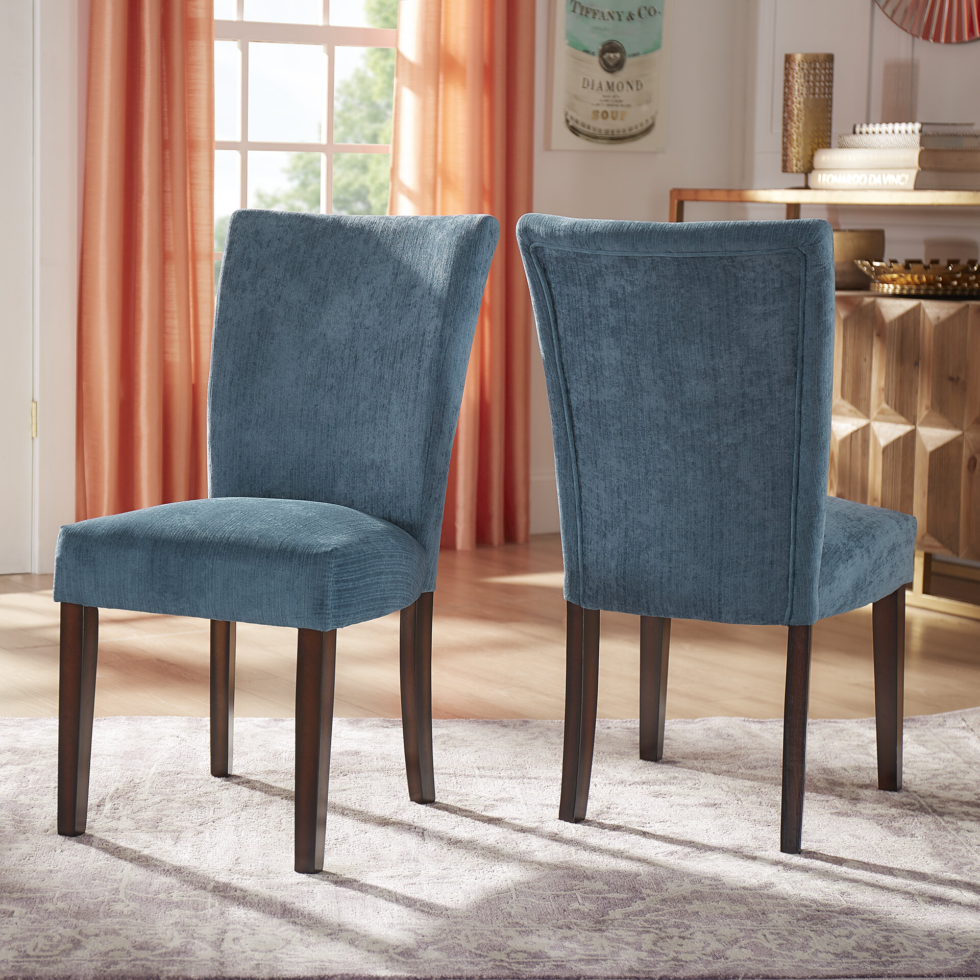 Chenille Glam Accent Chairs You Ll Love In 2021 Wayfair