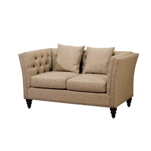 Buying Bolingbrook Chesterfield Loveseat by Darby Home Co Reviews (2019) & Buyer's Guide