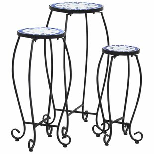 Omorfo 3 Piece Side Table Set By World Menagerie