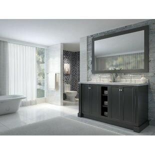 Asa 61 Double Bathroom Vanity Set by Red Barrel Studio