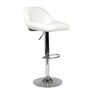 Affordable Adjustable Height Swivel Bar Stool (Set of 2) By Roundhill Furniture