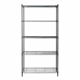 Tidy Living 5 Tier Wire Storage Rack