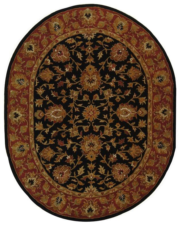 Astoria Grand Balthrop Black Red Area Rug Reviews Wayfair