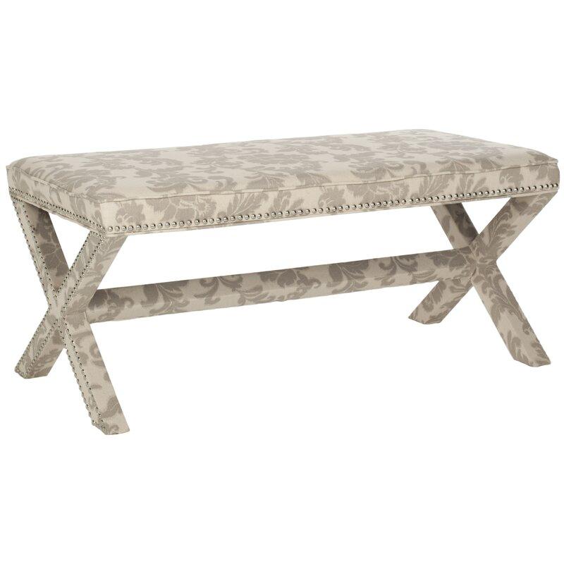 Safavieh Palmer Solid Wood Bench Reviews Wayfair