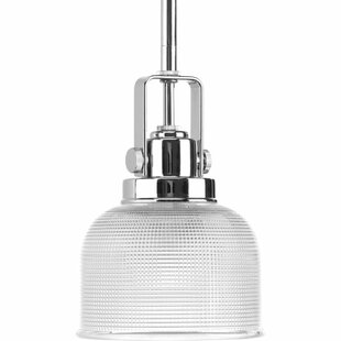 Beachcrest Home Gotha 1-Light Cone-Pendant