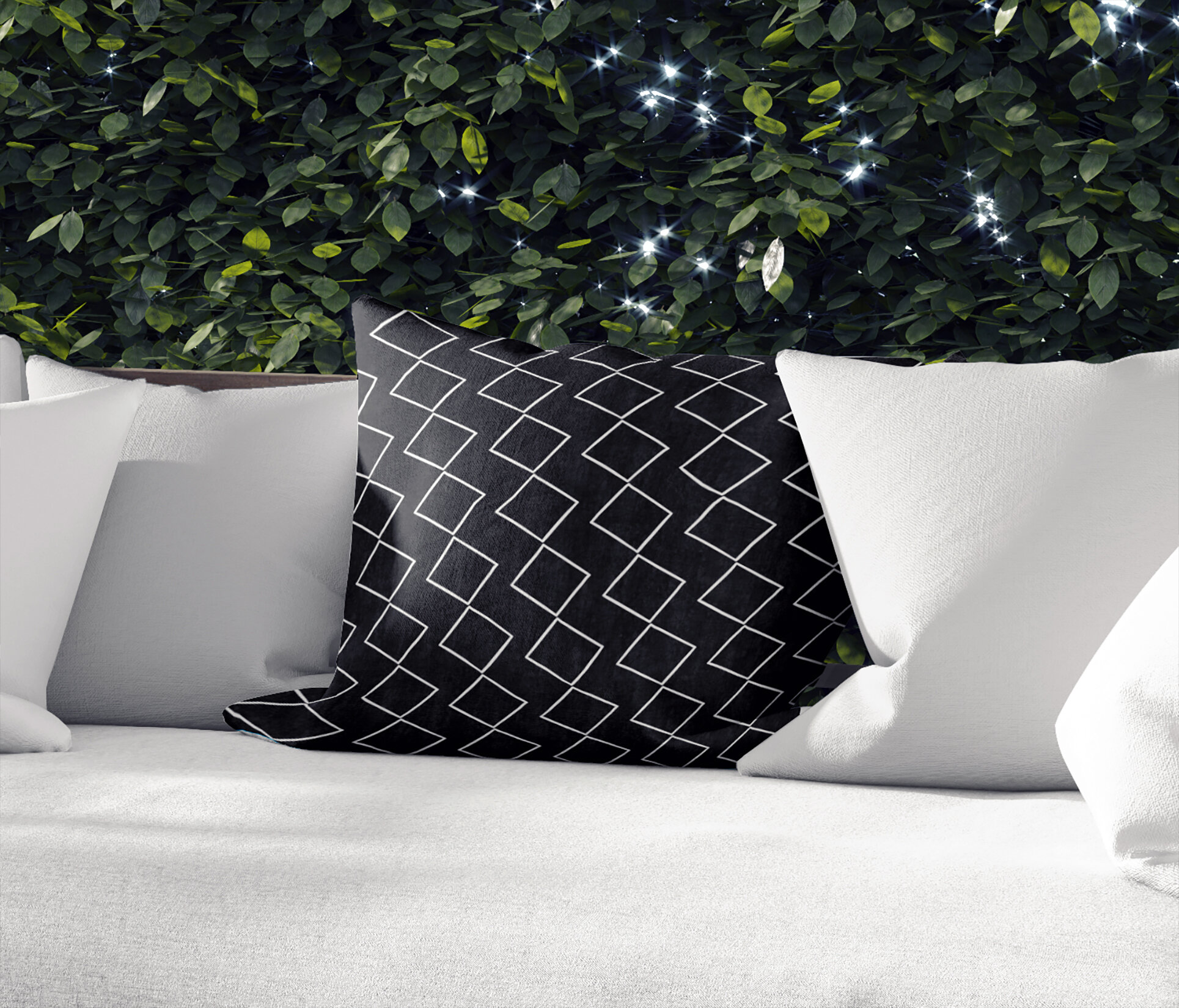 Ebern Designs Montz Outdoor Square Cotton Pillow Cover And Insert Wayfair