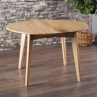 Union Rustic Mona Wood Dining Table