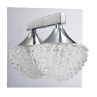 Icicle 1-Light Bath Sconce by Kendal Lighting