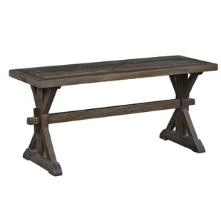 Gracie Oaks Marnie Wood Bench