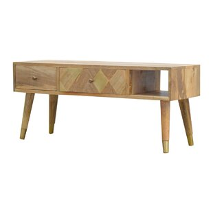 Amina Solid Wood TV Stand For TVs Up To 32