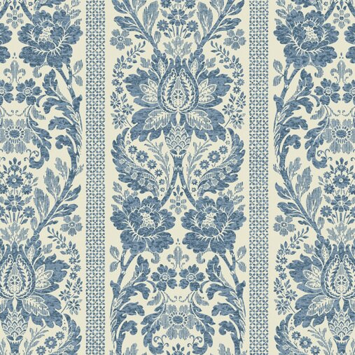 York Wallcoverings French Dressing 27 x 27 Damask Wallpaper