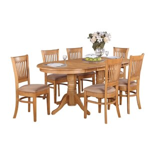 Darby Home Co Rockdale 7 Piece Extendable Dining Set