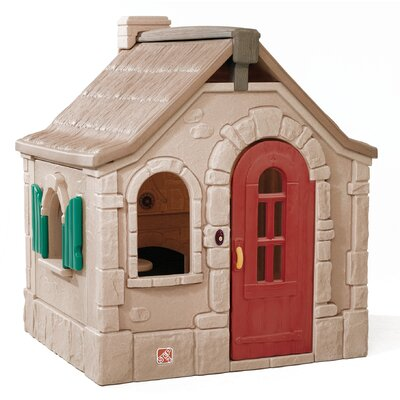 naturally playful storybook cottage 458 playhouse - Little Tikes Picnic On The Patio Playhouse