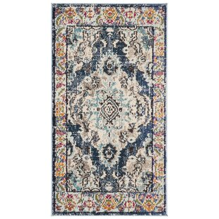 696970044f9 Annabel Power Loom Navy Blue Area Rug. by Bungalow Rose