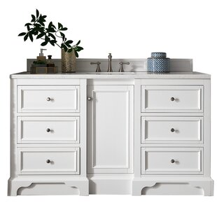 De Soto 61 Single Bathroom Vanity Base by James Martin Furniture