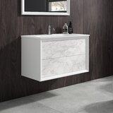 Cuyamaca 40 Wall-Mounted Single Bathroom Vanity Set by Orren Ellis