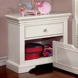 Sanger 1 Drawer Nightstand by Harriet Bee