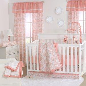 Medallion Crib 4 Piece Crib Bedding Set