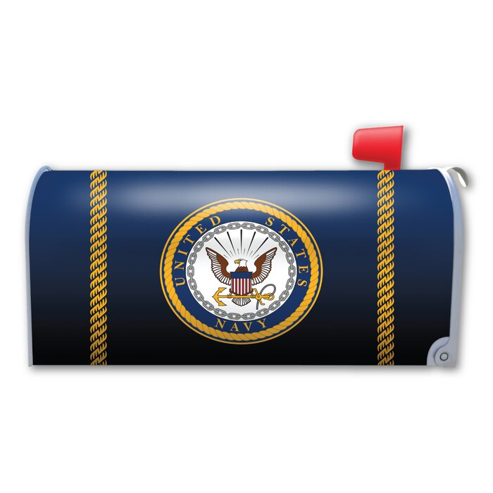 Navy Seal Magnetic Mailbox Cover