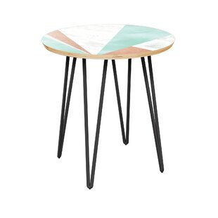 Constable End Table by Bungalow Rose