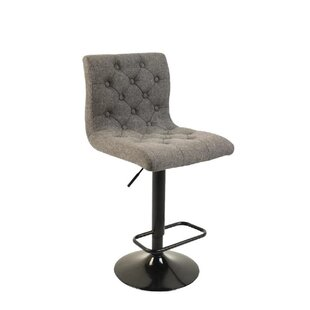 Storey Adjustable Height Swivel Bar Stool Wrought Studio