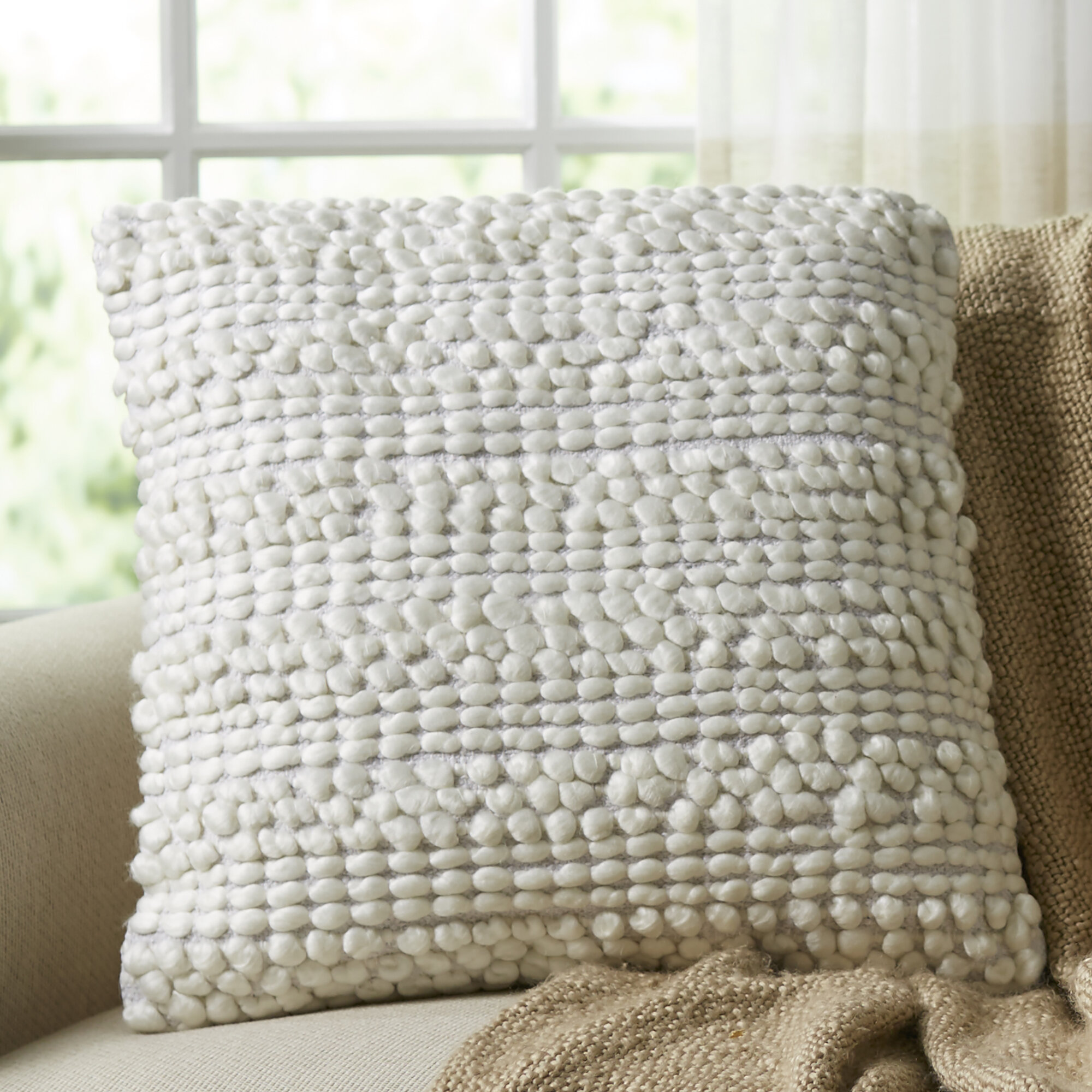 Demorest Square Pillow Cover And Insert Reviews Birch Lane