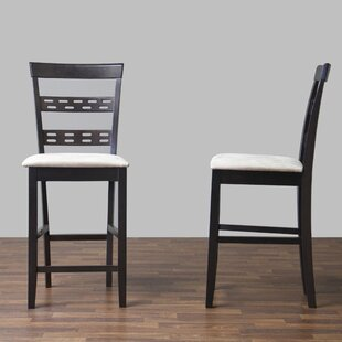 Spicer 24 Bar Stool (Set of 2) by Ebern Designs
