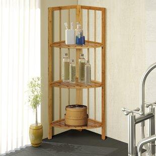 Best Melson 12.5 W x 40.5 H Bathroom Shelf ByBreakwater Bay