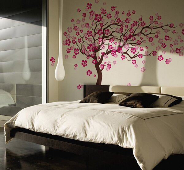Pop Decors Cherry Blossom Tree Wall Decal U0026 Reviews | Wayfair