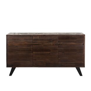 Alley Acacia Wood 6 Drawer Dresser