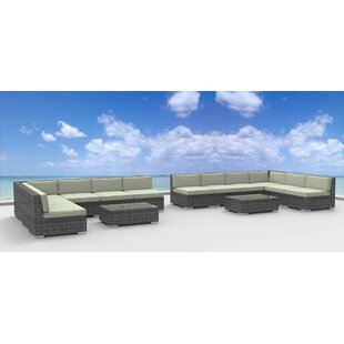 Venice 14 Piece Sectional Set With Cushions by Urban Furnishings Best Choices