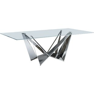 Posen Pedestal Dining Table by Orren Ellis