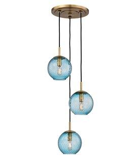 Marcellus 3 Bowl Light Cluster Pendant by Mistana