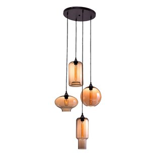 4-Light Cluster Pendant by Zuo Era