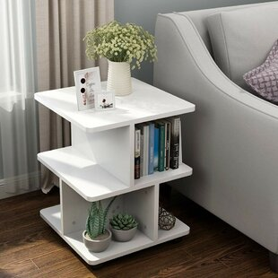 Foust End Table With Storage