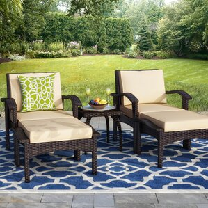 Springboro 5 Piece Deep Seating Group With Cushions