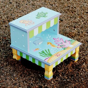 Under The Sea Step Stool by Fantasy Fields