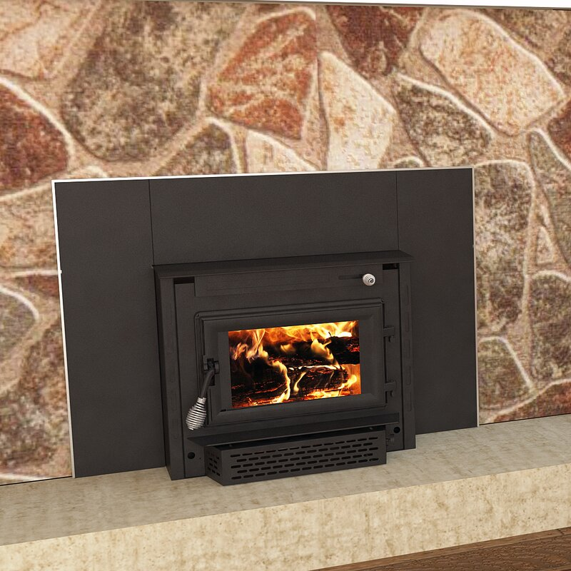 Us Stove Recessed Wall Mounted Wood Burning Fireplace Insert Only