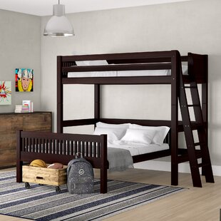 Trend Isabelle Twin Over Full L-Shaped Bunk Bed by Viv + Rae Reviews (2019) & Buyer's Guide