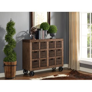 Auburn Accent Cabinet, Fully Assembled, Brown by Gracie Oaks SKU:BE880556 Shop