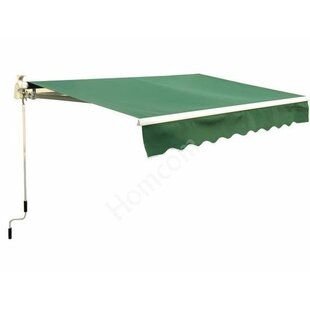 Outsunny 8 ft. W x 7 ft. D Retractable Patio Awning