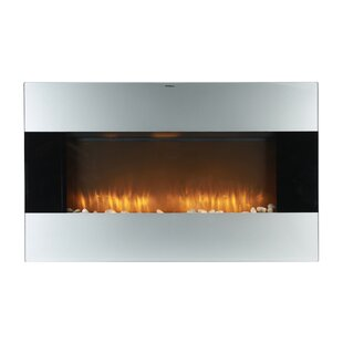 Dunagan Wall Mounted Electric Fireplace by Ebern Designs