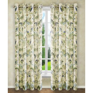 Tuckerman Single Curtain Panel by Three Posts