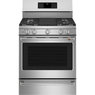 30 5.6 cu ft. Free-standing Gas Range with Griddle