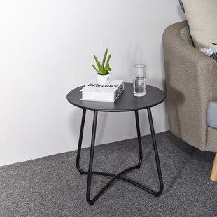 Bertradis Metal Side Table By Ebern Designs