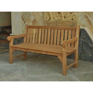Jayla Teak Bench by Lynton Garden