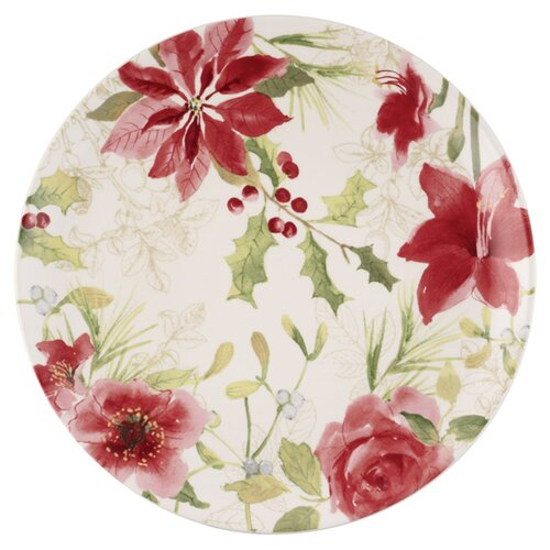 Paula Deen Holiday Floral Dinnerware from Wayfair!