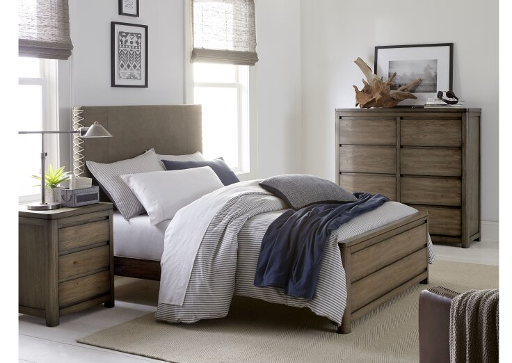 Wendy Bellissimo By Lc Kids Big Sky By Wendy Bellissimo Twin Upholstered Configurable Bedroom
