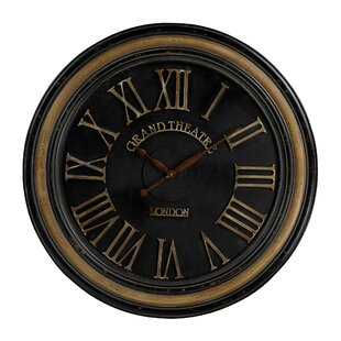 Oversized Aguon 36 Wall Clock by Charlton Home